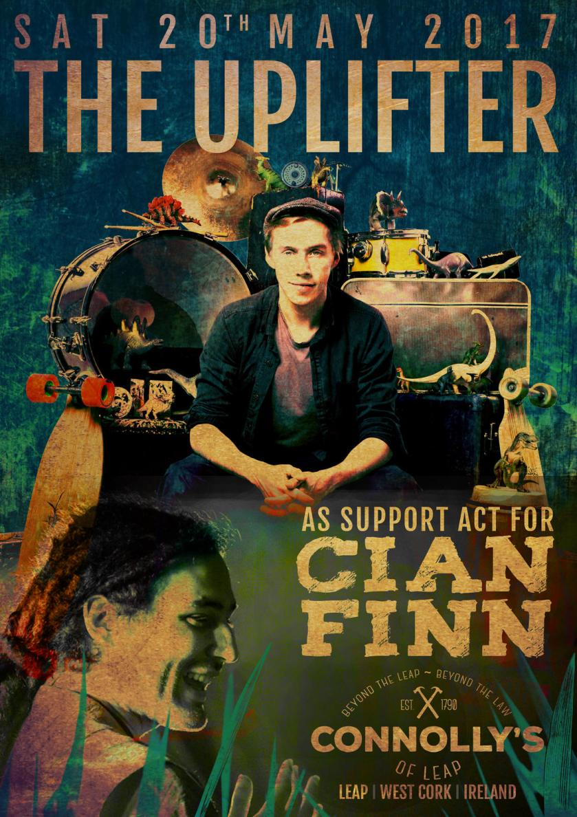 The Uplifter and Cian Finn poster