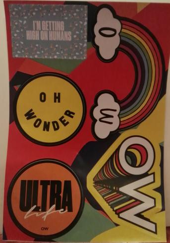 Oh Wonder Sticker Set
