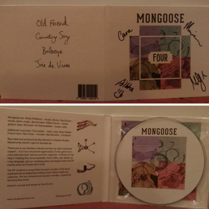 Four EP from Mongoose