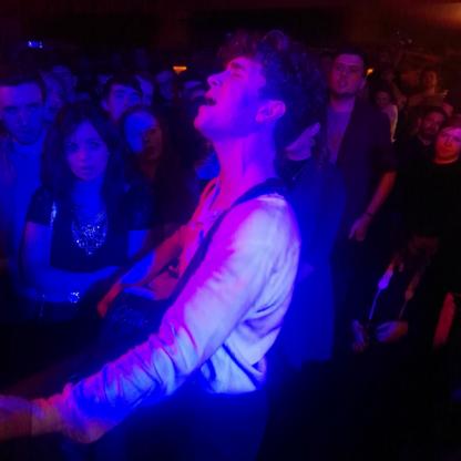 David Keenan Amidst the Crowd
