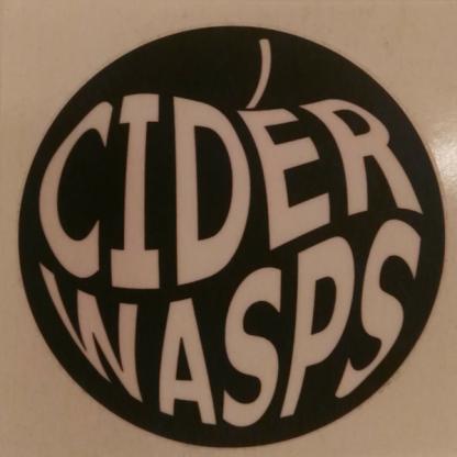 Cider Wasps band sticker