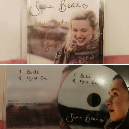 'Sara Bear' CD, signed