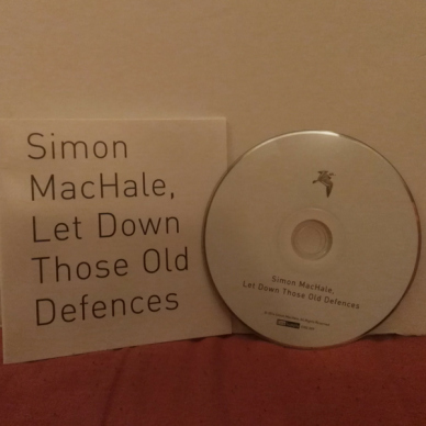 Let Down Those Old Defences Lyric Book and CD
